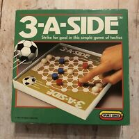 1989 3-A-SIDE Vintage Football Soccer Game with Wooden Pieces by Spears England
