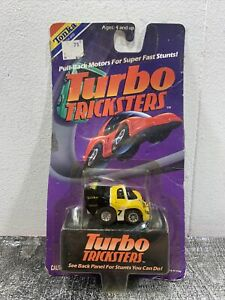 1989 Tonka Motorized Turbo Tricksters Pull Back Penny Racers No. 008 NEW