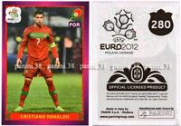 """RARE !! CRISTIANO RONALDO Sticker """"EURO 2012"""" Panini"""