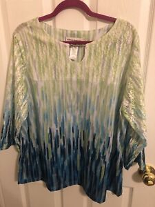 Alfred Dunner Top Size 1X