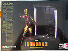 SH Figuarts / Bandai Iron Man Mark VI & Hall of Armor Set