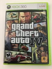 Microsoft Xbox 360 Grand Theft Auto IV Video Game Map and Manual Included