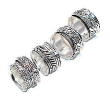 Nice 10 Pieces Precious Silver Plated Trendy Elegant Austrian 925 Ring Jewelry