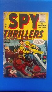 Spy Thrillers #3 Atlas Timely 1955 Golden Age VG RARE Only Copy on EBay!