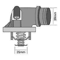 TRIDON Std Thermostat For BMW 320i E90 - E93 01/05-12/10 2.0L N42,N46