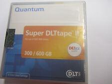 NEW SEALED QUANTUM SUPER DLT TAPE II 300/600 GB