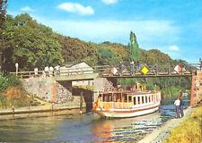 AK, StanislasZeller meckl., lenzer Canal avec pont et Transbordeur, 1983