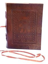Indiana Jones Handmade Leather Journal Brown Diary Sketchbook Gift Notebook 8x6