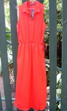 BNWT French Connection RRP$170 (Size 10/Tall) Long Summer Maxi Dress Tie Waist