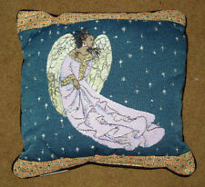 African American Angel Tapestry Pillow ~ Artist, Sylvia Walker