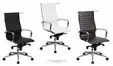 Quality 16 HIGH BACK Office Desk Task Conference Chairs BLACK BROWN or WHITE