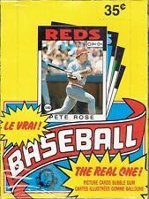 1986 O-PEE-CHEE Baseball Unopened Box