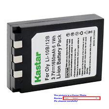 Kastar Replacement Battery for Olympus Li-10B Li-12B Li-10C Stylus 410 Digital