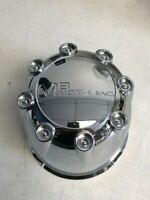 MB Motoring Chrome Push Thru Wheel Center Cap F8041 CCF8041