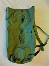 Military Duffel Bag, OD Green, Unissued