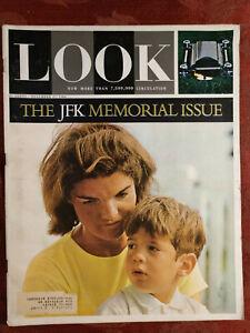 LOOK November 17 1964 JACQUELINE KENNEDY JFK MEMORIAL
