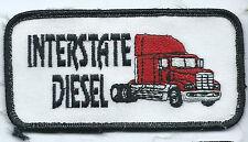 Interstate diesel employee patch 2 X 4