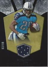 2008 Upper Deck Icons Rookie Brilliance Jersey Gold #RB5 Chris Johnson Jersey/99