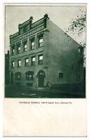 Early 1900s Pythian Temple, Altoona, PA Postcard