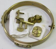 VINTAGE HAMILTON MODEL 21 SHIPS CHRONOMETER DECK CLOCK BRASS CASE GIMBALL PARTS