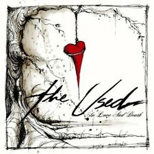 THE USED - IN LOVE AND DEATH (STANDARD BLACK VINYL)   VINYL LP NEW+
