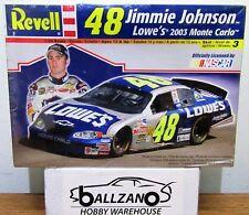 Revell 2191 #48 NASCAR Jimmie Johnson Lowe's 2003 Monte Carlo w/ Driver 1/24