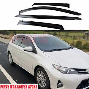 Weather Shields For Toyota Corolla 2012-2018 Hatch Window Visors Windshields