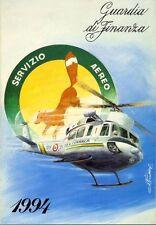 Calendario storico Guardia di Finanza - anno 1994