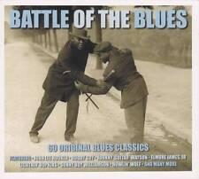 BATTLE OF THE BLUES - 60 BLUES ORIGINAL CLASSICS  (NEW SEALED 3CD)