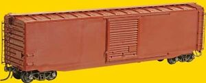 Kadee ~ HO scale #4105 ~ Undecorated 50' PS-1 Boxcar Kit ~ 9' Door ~ Full Ladder