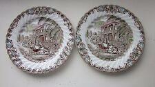 "Heritage Hall Salad Plates set of Two 8"""