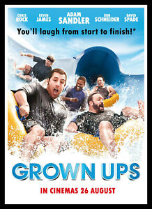 Grown Ups Movie Poster Print & Unframed Canvas Prints