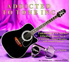 Takamine Pro Series TPK0540 Tuner / Chrome w/ Sloped Shoulder Button / OEM Part
