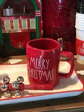 Magenta Rae Dunn Christmas Winter Traditional LL Red Merry Christmas Mug New!