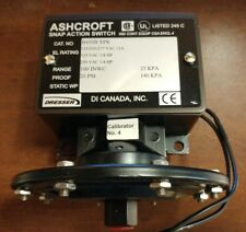 ASHCROFT B450B XPK 100in 20psi Pressure Switch (436)