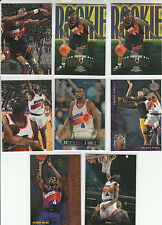 (8) MICHAEL FINLEY RC LOT 1995-96 FLAIR FLEER SP UPPER DECK SKYBOX ++