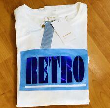 Rich & Royal T-Shirt weiß mit Print RETRO Gr M NP €49,95 trendig & ausgefallen!