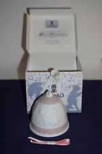 Lladro 1996 Bell ornament Mib with Coa and ribbon 16297