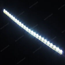 White 24cm 24LED PVC Flexible LED Strip Light Waterproof for Car Motorcycle