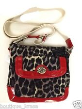 NWT COACH F49441 Park Ocelot Print Swingpack 100%Authentic