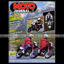 MOTO JOURNAL N°754 KAWASAKI KLR 600 ★ MONTESA COTA 304 ★ GRAND PRIX RIJEKA 1986