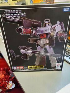 Transformers Masterpiece MEGATRON MP-36+ Plus Authentic Takara TOMY New