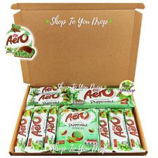 🎁10 ITEM LARGE BOX AERO MINT CHOCOLATE Nestle Peppermint Bubbles Milk Present🍫