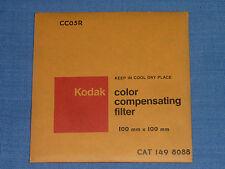 Kodak WRATTEN FILTRI 100x100 CC 05r