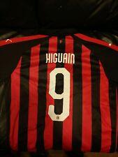 Milan Higuain Match Player/Issue Shirt (Large)