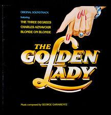 "GEORGES GARVARENTZ --- "" THE GOLDEN LADY ""  -- AZNAVOUR / THE THREE DEGREES - NM"
