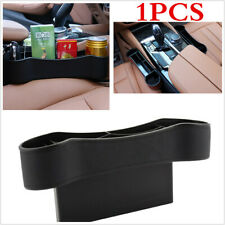 Storage Box Organizer Coins Cup Holder Black Universal For Car Seat Crevice Gap
