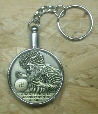 Good Luck Token With Key Ring , All Seeing Eye