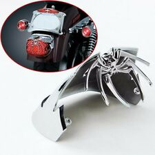 Chrome Widow Spider Rear Tail Light Cover For Harley Davidson Dyna Electra Glide
