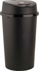 45L BLACK TOUCH TOP BIN / DUSTBIN / RUBBISH BIN / KITCHEN / HOME / PLASTIC.
